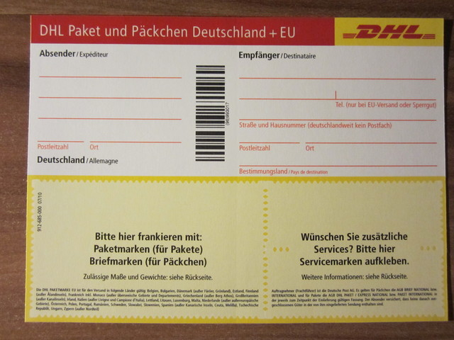 dhl pdf paketschein tracking support. Black Bedroom Furniture Sets. Home Design Ideas